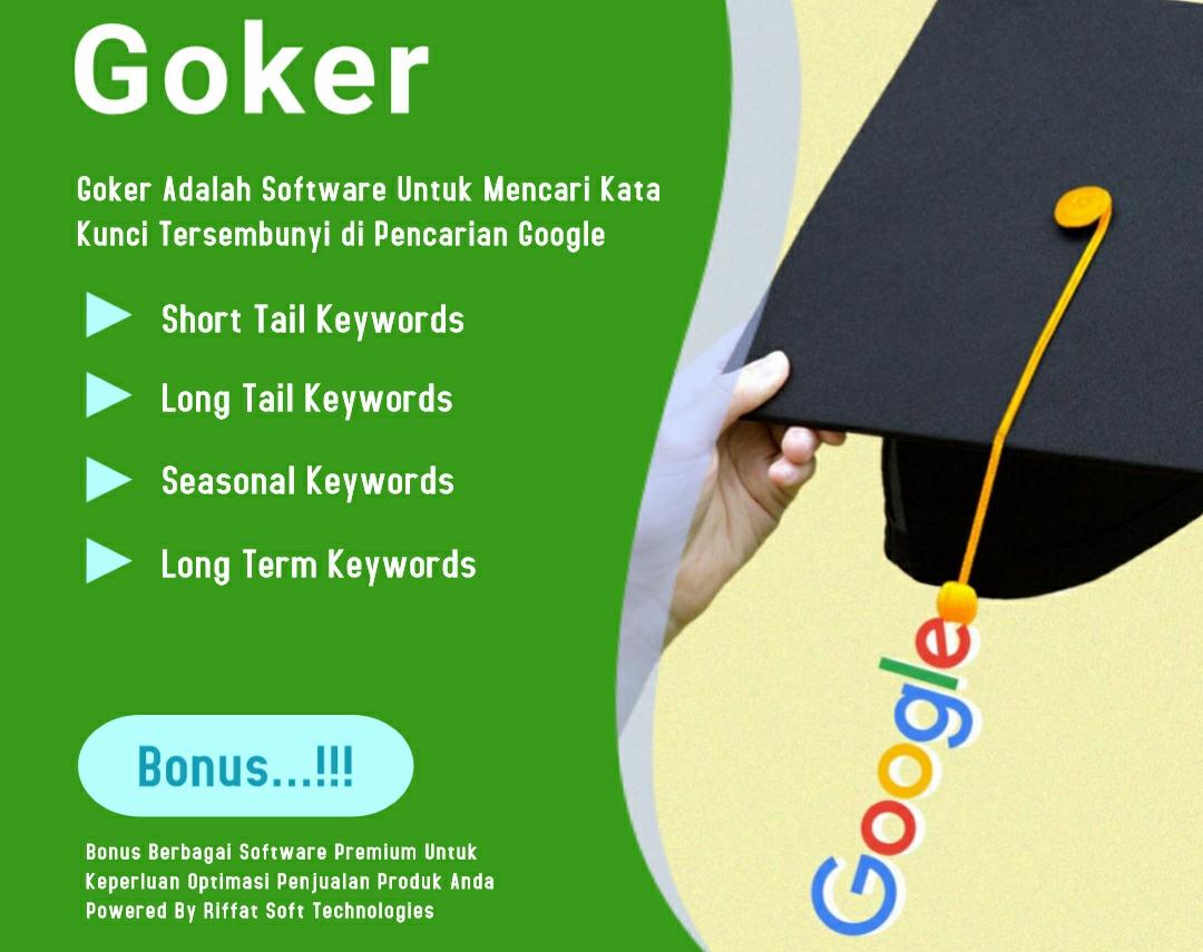 Cara Riset Kata Kunci dan Keyword Marketplace Di Google Dengan Goker