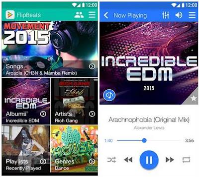 10 Aplikasi Pemutar Musik Ter-Keren untuk Hp Masa Kini