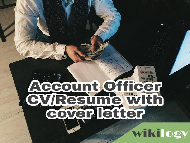 Account Officer CV Resume with cover letter