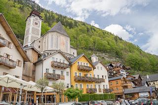Centro histórico de Hallstatt, Austria