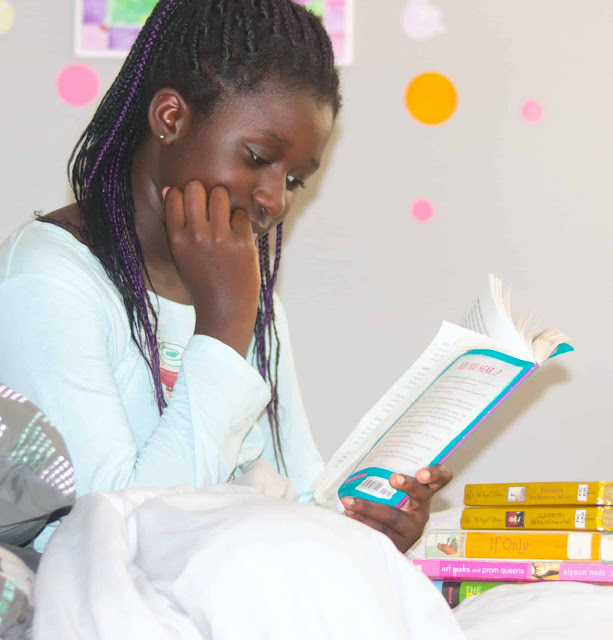 Reading helps develop self confidence.