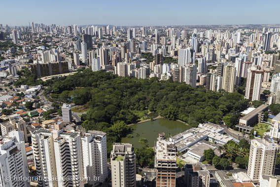 Goiânia é a segunda maior cidade do Centro-Oeste