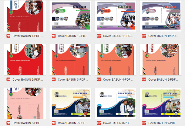 Buku Bahasa Sunda Siswa SD MI SMP MTs SMA SMK MA MAK Lengkap