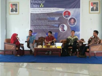 "Press Release Nuclear Talks 2016 Palembang: ""Nuklir, Sekecil Atom Sejuta Manfaat"""