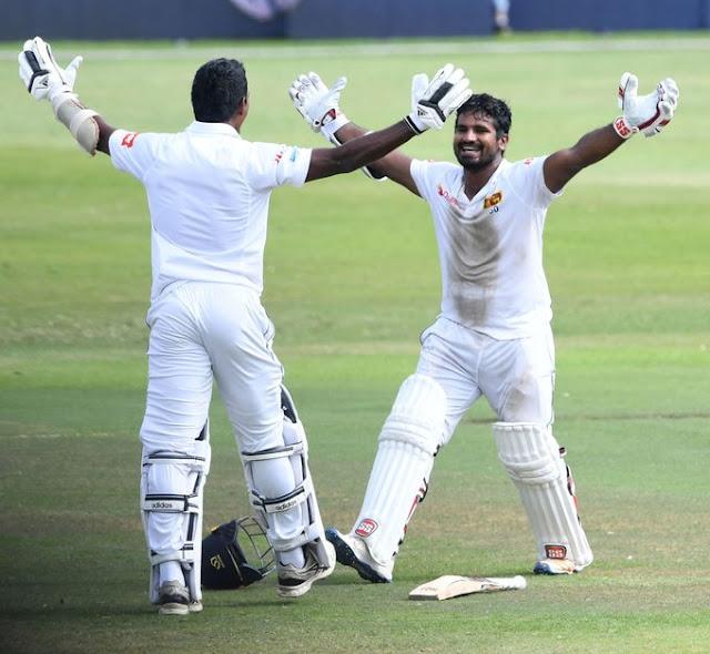 श्रीलंका ने डरबन में खेले गए पहले टेस्ट मैच में दक्षिण अफ्रीका को रोमांचक मुकाबले में 1 विकेट से हराया