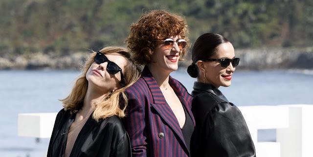 Leticia Dolera, Celia Freijeiro y Aixa Villagrán en San Sebastian