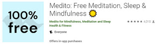Medito App at Google Play Store