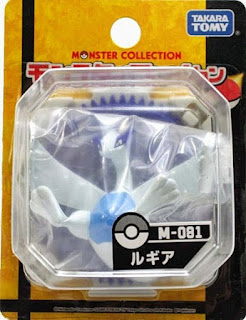 Lugia figure Tomy Monster Collection M series