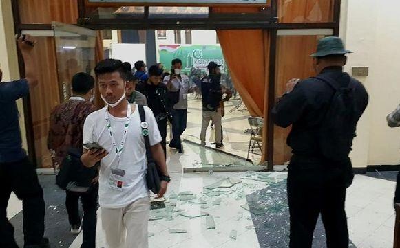 Imbas Ricuh Kongres Surabaya, Pengelola Minta HMI Ganti Rugi Semua Kerusakan