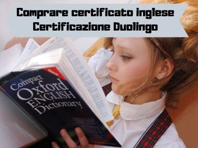 duolingo certificazione