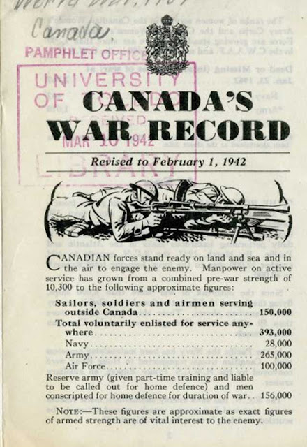 Official Canadian War Summary of 1 February 1942 worldwartwo.filminspector.com