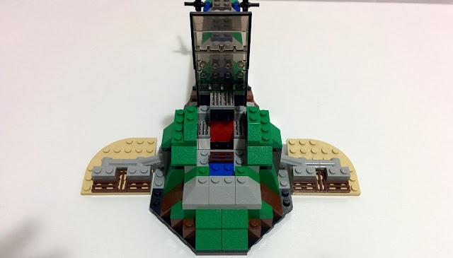 LEGO set 7144 Slave I - Boba Fett