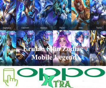 Urutan Skin Zodiac Mobile Legend