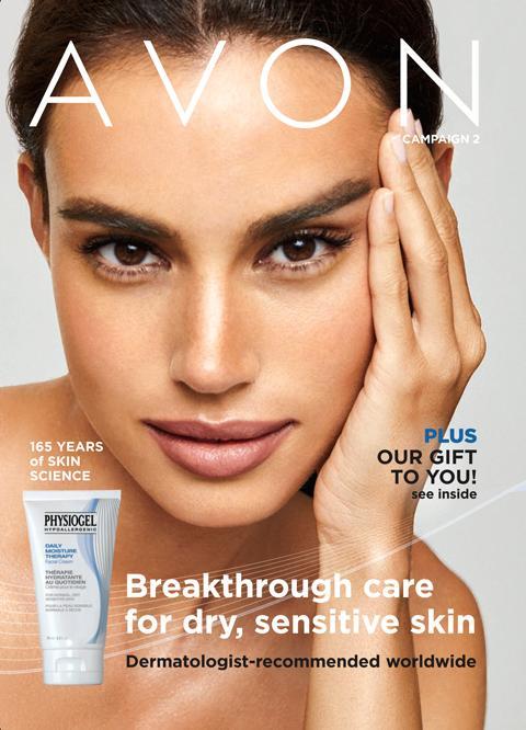 AVON Brochure Campaign 2 2021 - Breakthrough Care For Dry, Sensitive Skin