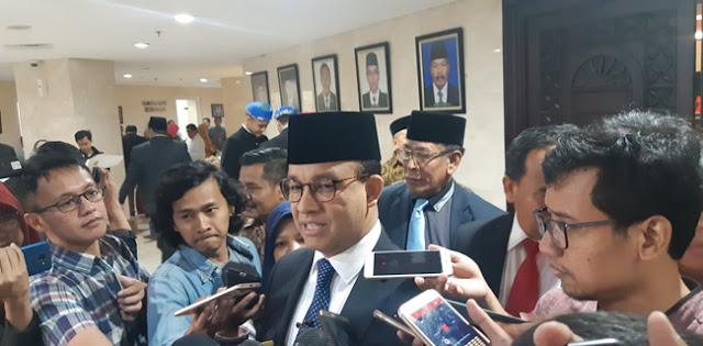 Ibu Kota Pindah Ke Kaltim, Anies: Perekonomian Jakarta Jalan Terus