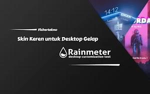 Join dark side! 15 Skin Rainmeter Keren untuk Desktop Tema Gelap [Windows]