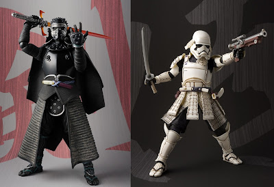 Star Wars Kylo Ren & First Order Stormtrooper Meisho Movie Realization Action Figures