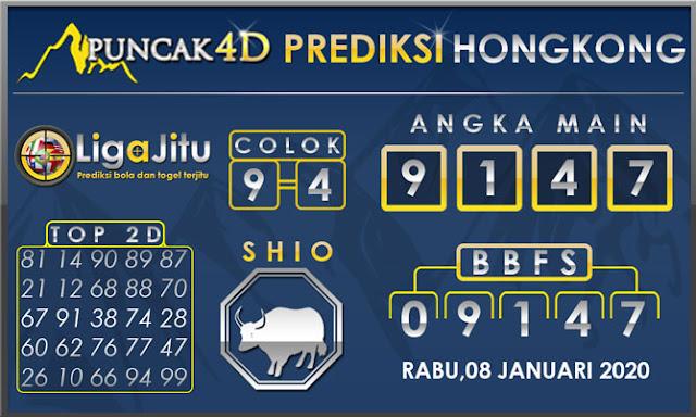 PREDIKSI TOGEL HONGKONG PUNCAK4D 08 JANUARI 2020