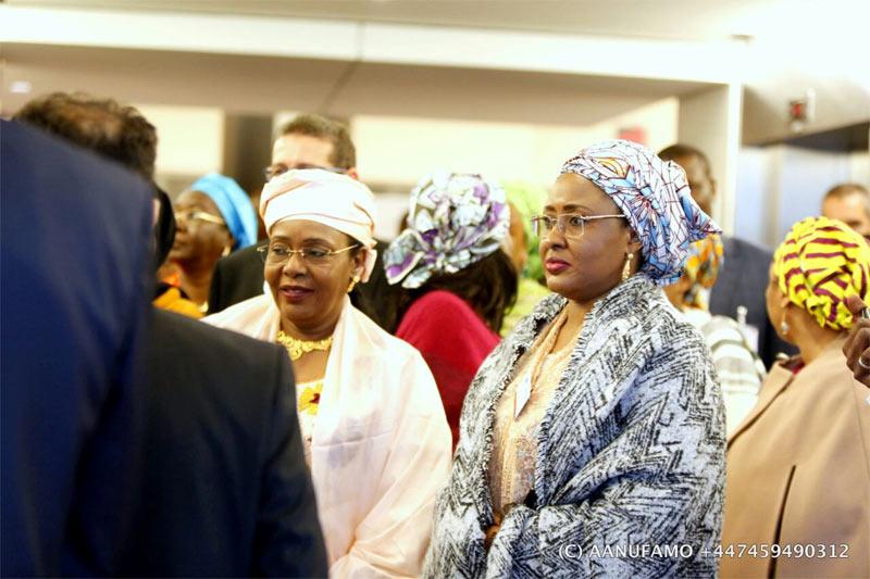 The Other Room: Aisha Buhari gets women's award in Belgium