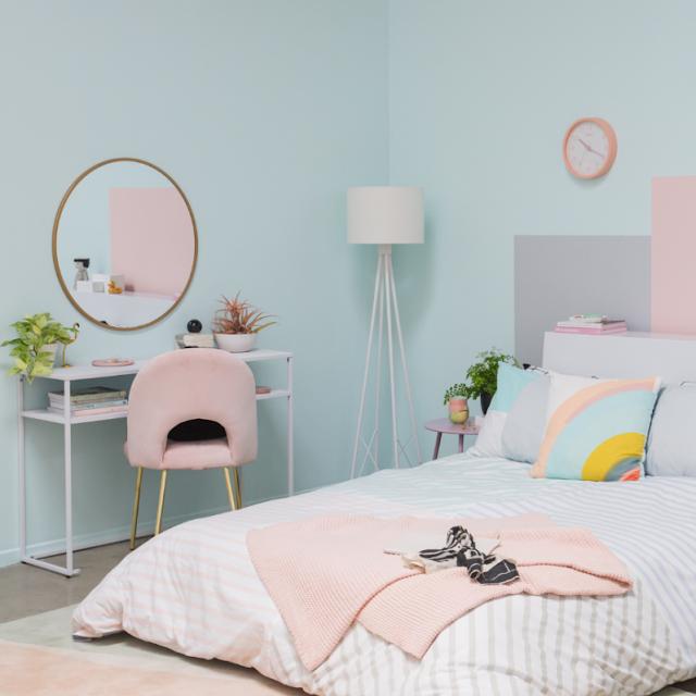 Cat Warna Pastel untuk Kamar Tidur