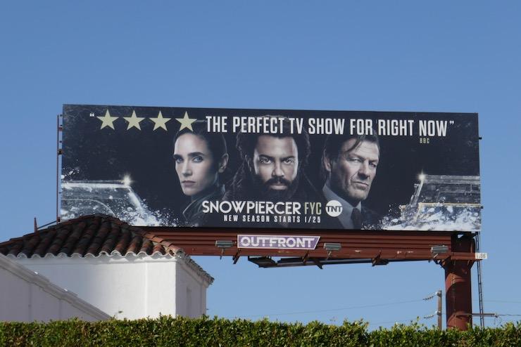 Snowpiercer 2020 FYC billboard