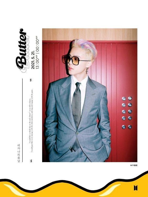 방탄소년단(BTS) 박지민, 화려한 버터 티저포토 공개