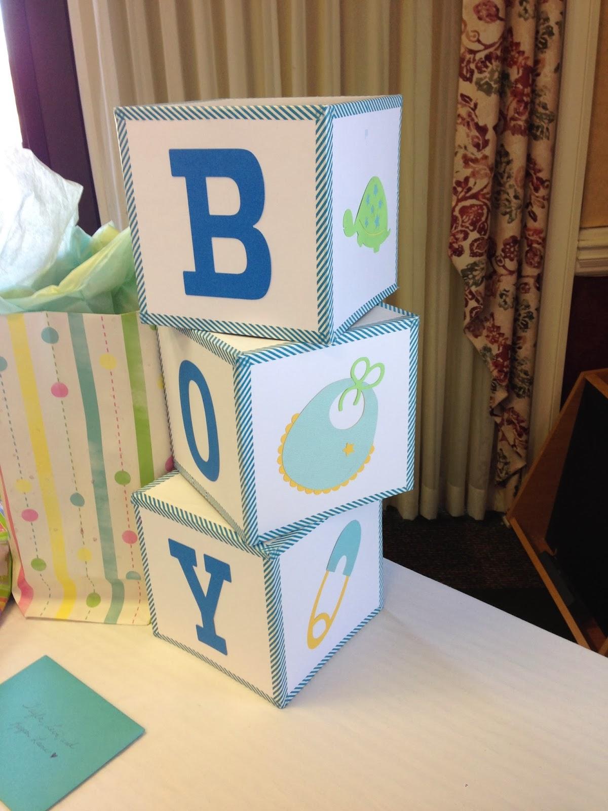 Mrs Crafty Adams Baby Shower Decorations