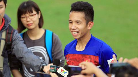 Hồng Duy được HLV Nguyễn Hữu Thắng gọi lên đội tuyển
