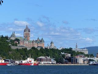 Hôtel Frontenac - Château Frontenac - Vu depuis Lévis - Québec - Canada