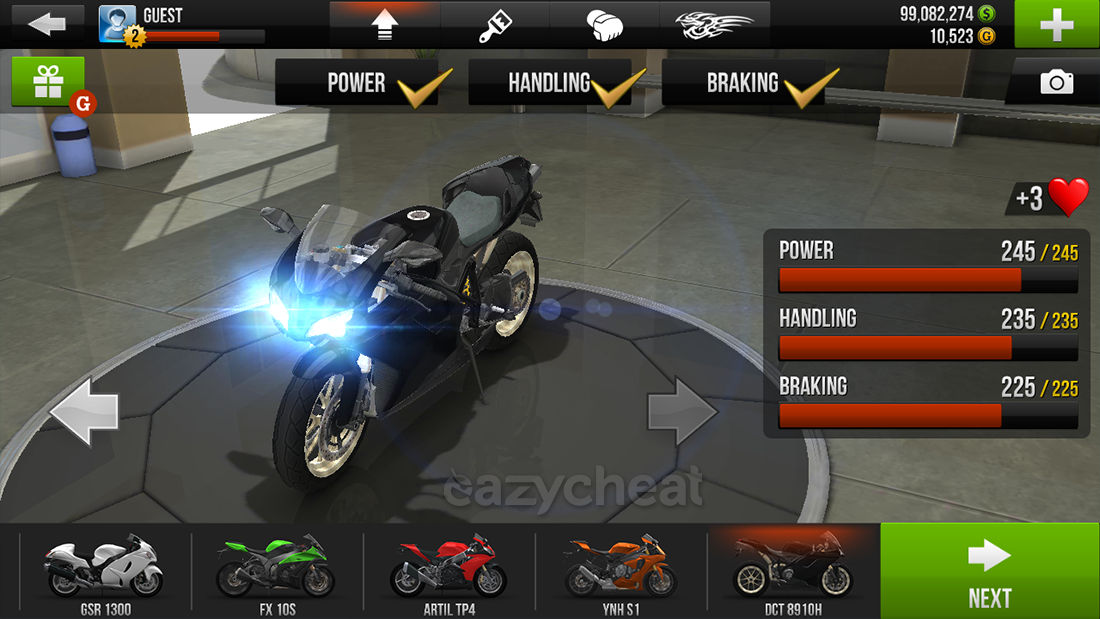 traffic rider latest hack download