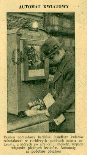 Retro :: Automat kwiatowy