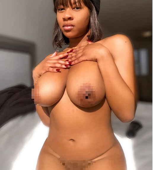 Abby, goes completely naked in new X-rated photo (+18)