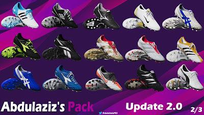 PES 2020 Legends Pack Update 2.0 by Abdulaziz [ 173 legends | 44 Classic boots ]