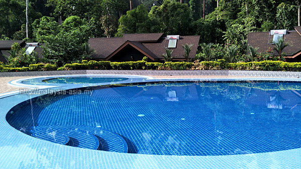 Swimming Pool at My Nature Resort Sepilok