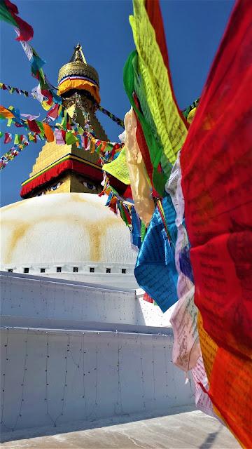 Bodanath stupa Népal