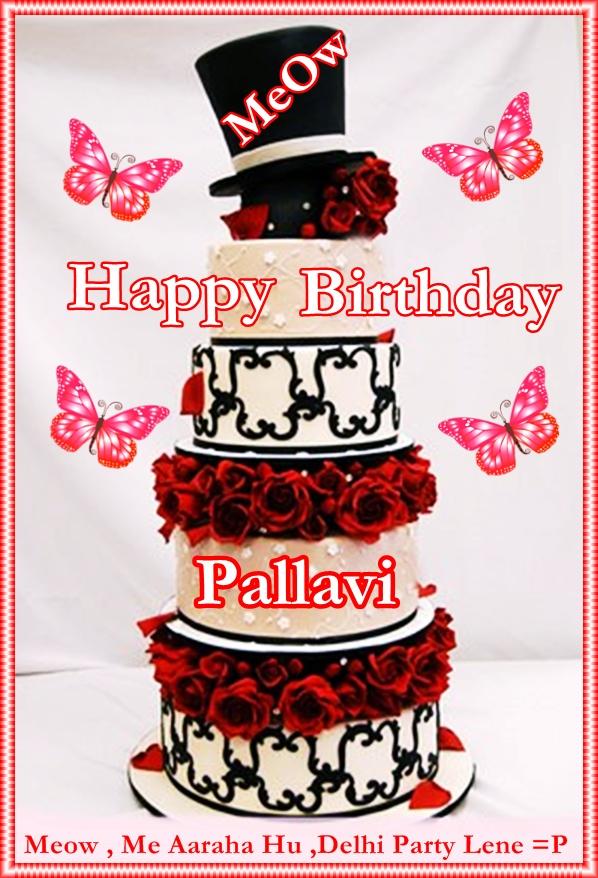 Happy Birthday Pallavi Meow D
