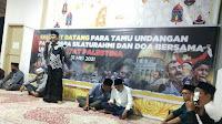 Tidak Berhenti di Penggalangan Dana, H.Mukhlis Gelar Doa Bersama Untuk Palestina