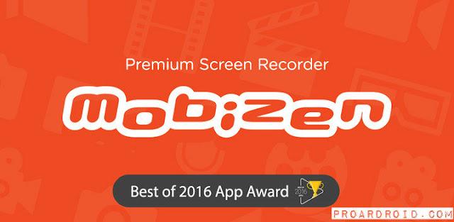 تطبيق تسجيل الشاشة Mobizen Screen Recorder v3.6.5.1 كامل للأندرويد مجاناً logo