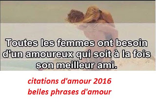 citations d'amour 2016 - belles phrases d'amour
