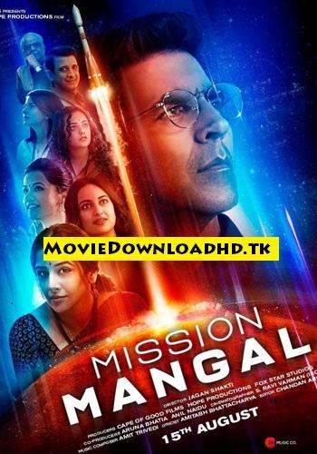 Mission Mangal 2019 Hindi Full Movie Download in HD 720p www.moviedownloadhd.tk