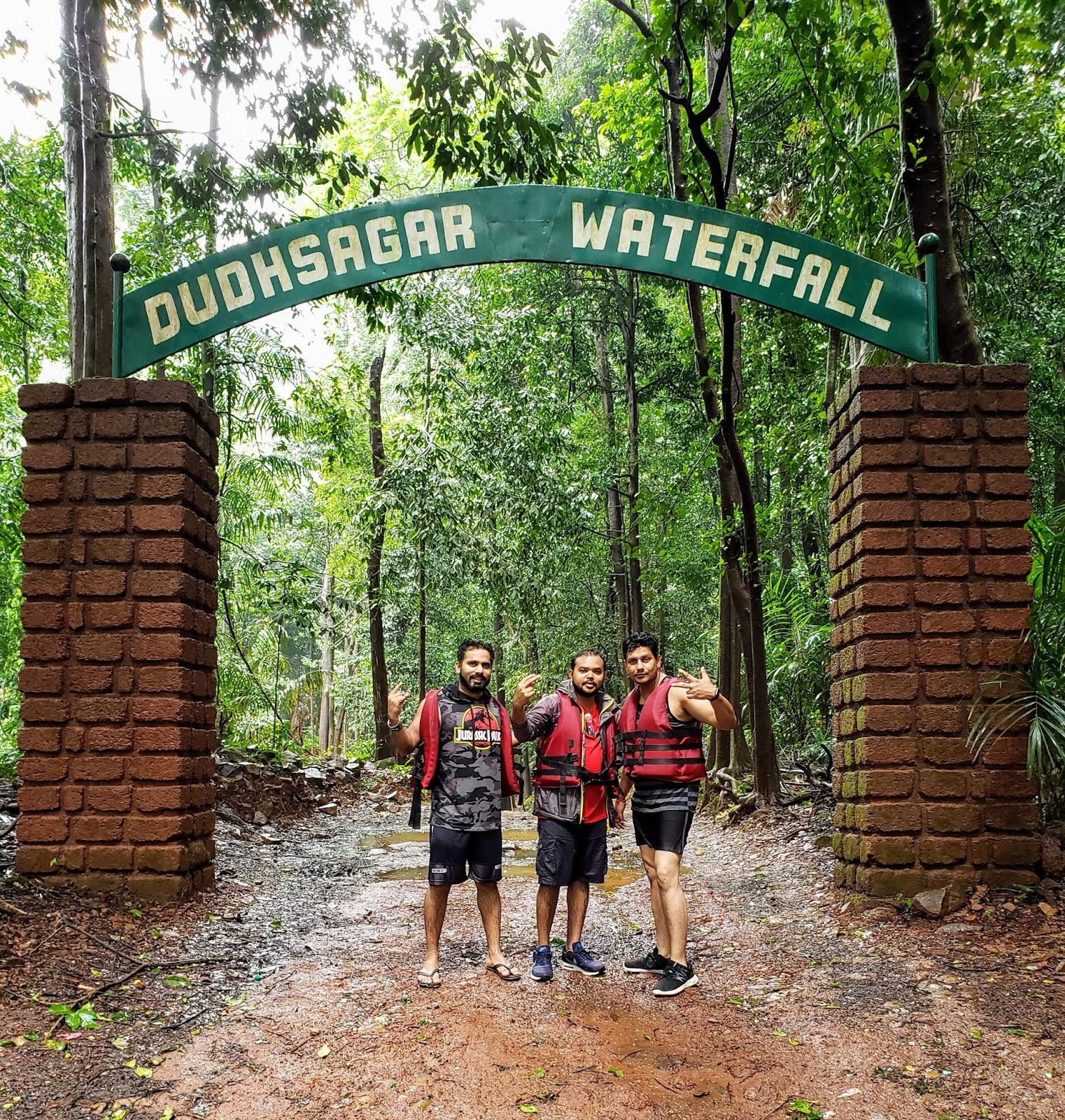 Dudhsagar Falls Trekking, Goa