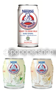 susu bear brand all variant