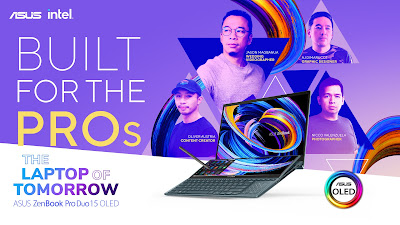 ASUS ZenBook Pro Duo 15 OLED Built for the Pros