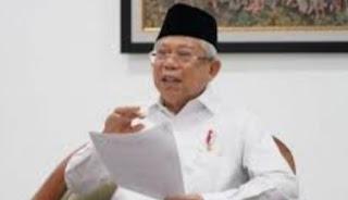 Presiden RI Ma'ruf Amin Keluarkan Perintah Tegas Kepada Ulama dan Tokoh Islam, Dukung PPKM Sudah 541 Meninggal Covid-19