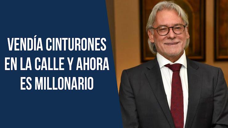 El exitoso empresario colombiano que comenzó vendiendo cinturones en la calle - Vélez