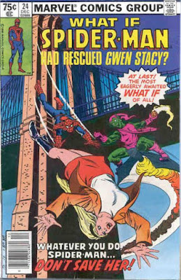 What If? #24, Spider-Man had rescued Gwen Stacy