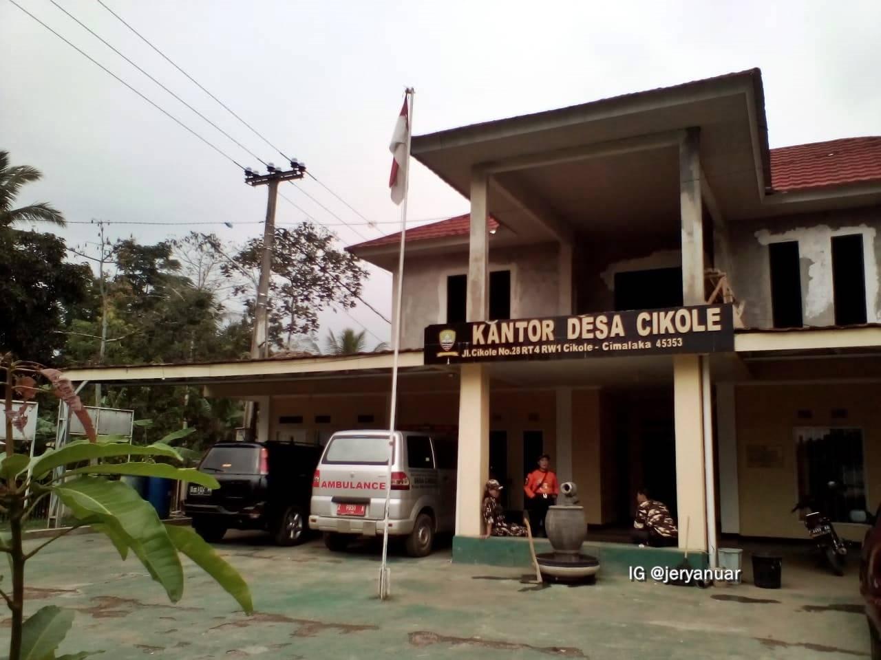 Kantor Desa Cikole, Kab. Sumedang