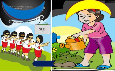 Buku Guru dan Siswa SLB Tunanetra Kelas 1,2,3,4,5,6,7,8,9 Terbaru