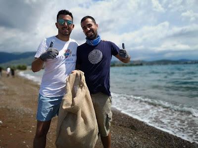 καθαρισμός Παραλίας Ραχών
