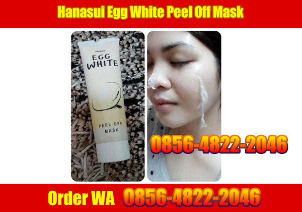 EGG WHITE PEEL OFF MASK - MASKER TELUR - order WA 0856-4822-2046